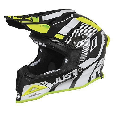 Just1 J12 Pro Vector White-Yellow Fluor-Carbon
