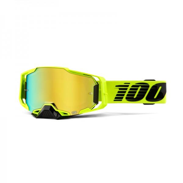 100% Goggle Armega Nuccir Mirror Gold