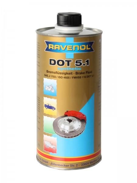 RAVENOL Bremsflüssigkeit DOT 5.1