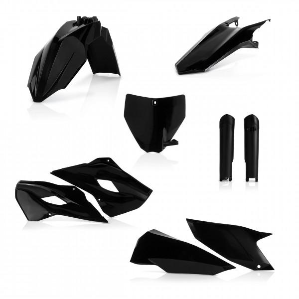 Plastik Full Kit Husqvarna MX Schwarz