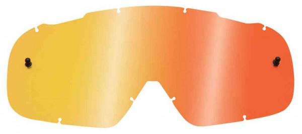 Fox Airspace/ Main II Lexan Lenses - Chrome Red