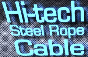 Hi-Tech Steel Rope Cable