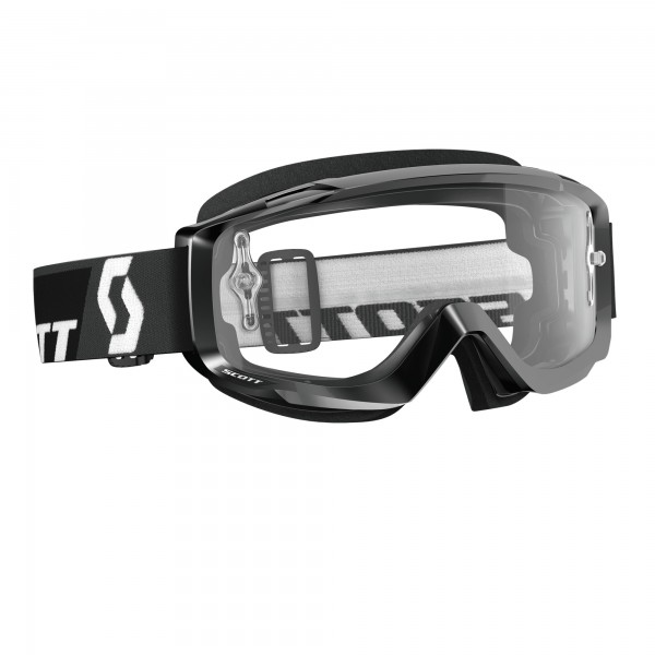 Scott Split OTG Brille black/clear